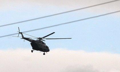 Mueren cuatro militares al caer el helicóptero en el que viajaban