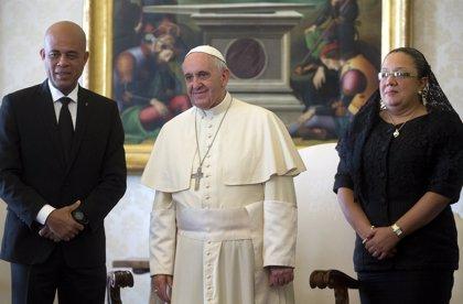 Haití.- El Papa Francisco y el presidente de Haití hablan de reconstrucción y reconciliación