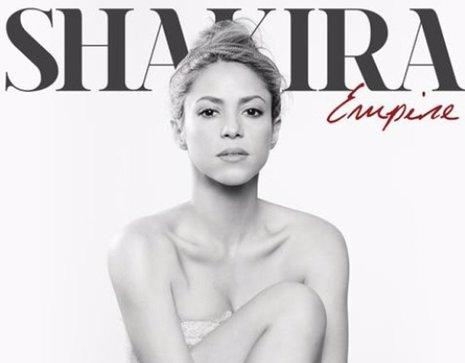 Shakira revela la portada de su single Empire