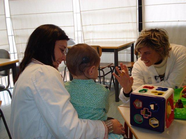 Logopedas,niño,médico,medicina, enfermera