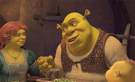 Shrek, felices para siemre
