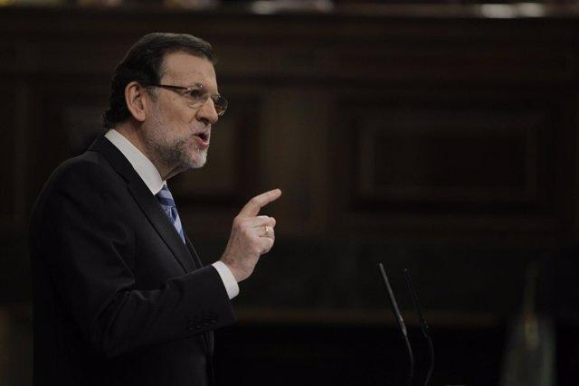 Mariano Rajoy Debate sobre el Estado de la Nación
