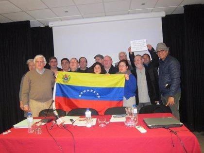 Venezuela.- Organizaciones de izquierda radicadas en España brindan su apoyo a Maduro