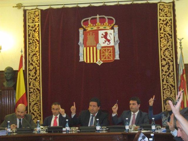 Pleno de la Diputación de Castellón