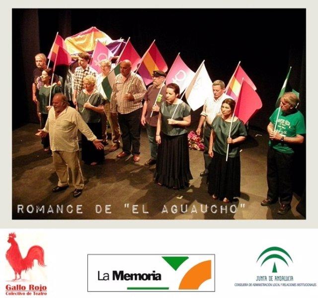 La sede de RTVA acoge 'Romance de El Agaucho'