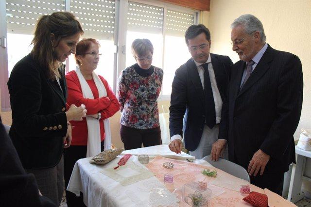 El alcalde de El Ejido y el defensor del Pueblo Andaluz