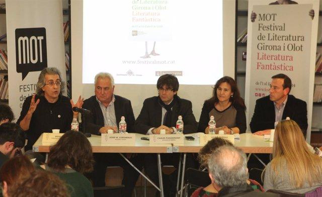 Girona y Olot presentan el festival Mot