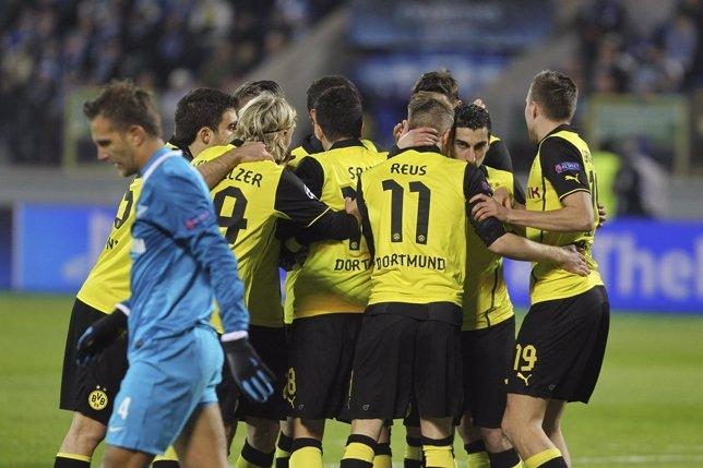 El Borussia vence al Zenit en Rusia
