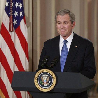 Bush expondrá decenas de sus cuadros a partir de abril