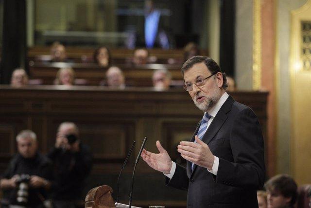 Rajoy en el Debate del Congreso