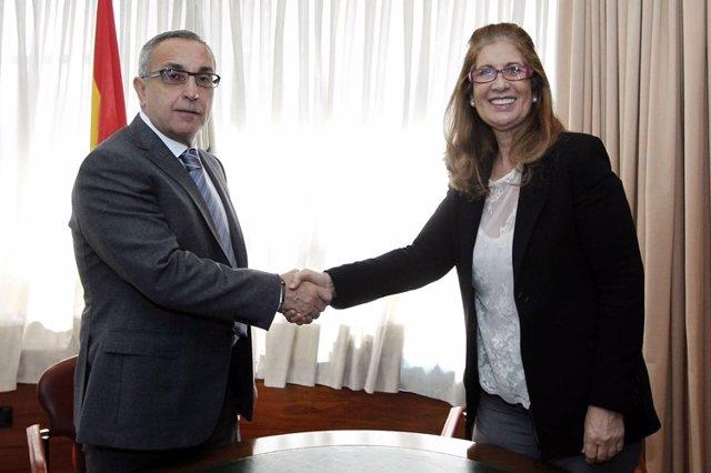 Alejandro Blanco y Hortensia Vigil