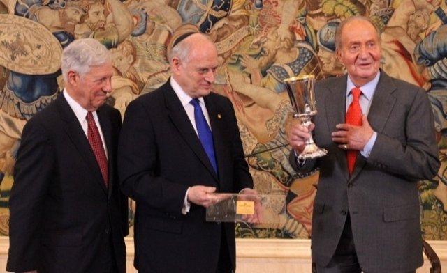 El Rey, con representantes de la Conferencia de Presidentes