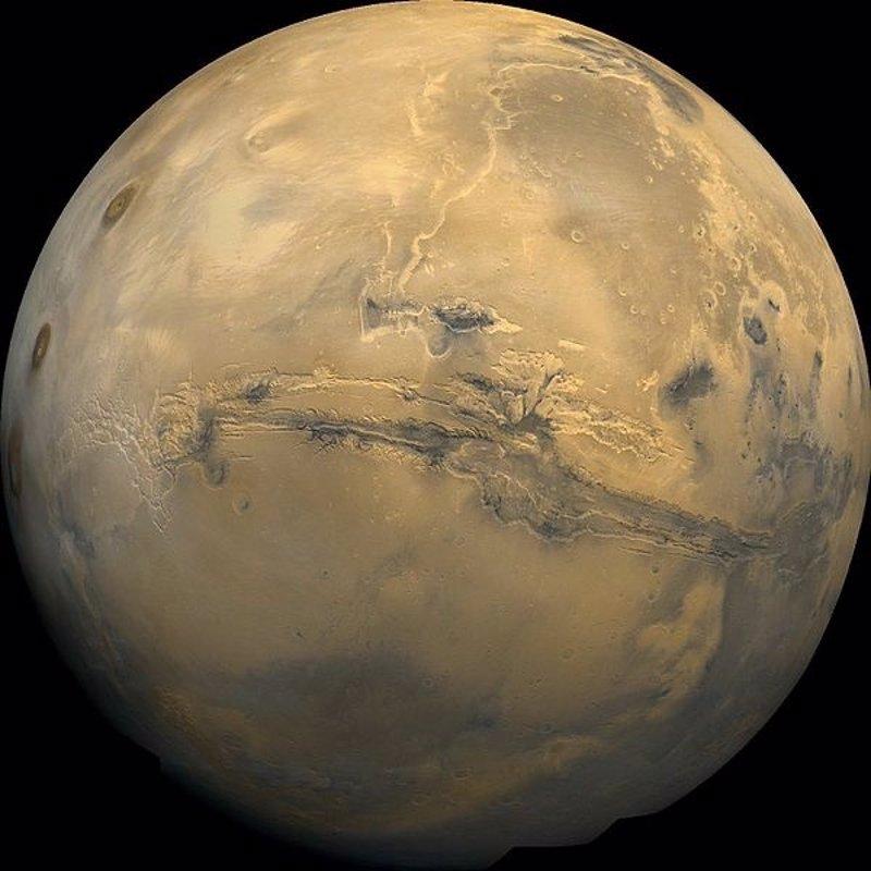 Creen ver rastros de antigua vida en un meteorito marciano