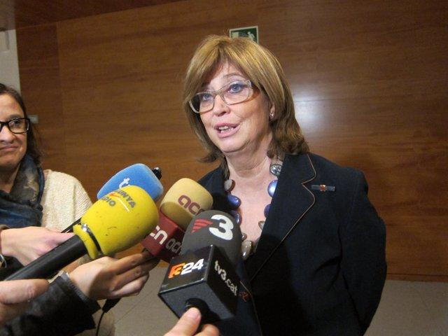 La consellera de Enseñanza de la Generalitat, Irene Rigau