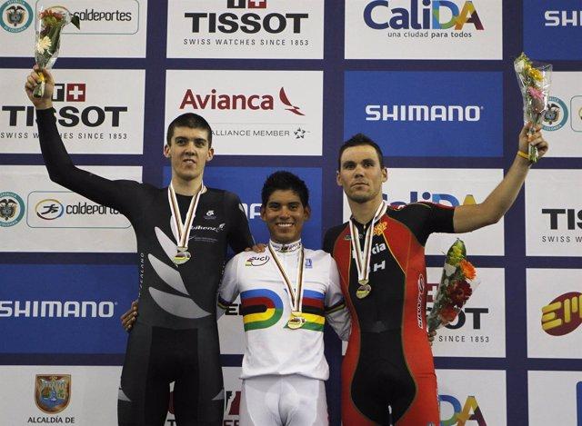Eloy Teruel, bronce en la prueba de puntos del Mundial