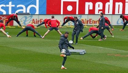 Simeone convoca a los 20 jugadores disponibles para el derbi