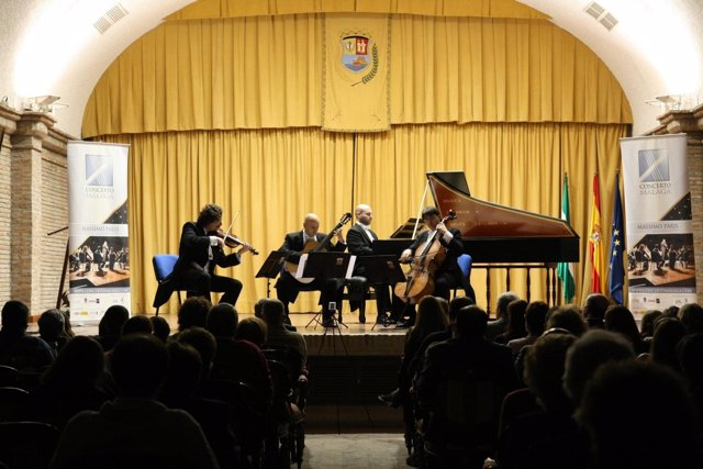 Actuación de Concerto Málaga