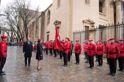 El Gobierno de Navarra reconoce la labor de 90 agentes de la Policía Foral y 15 colaboradores