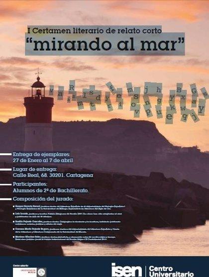 El Centro Universitario ISEN convoca el I Certamen literario de relato corto 'Mirando al mar'