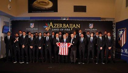 El Atlético renueva su acuerdo con Azerbaiyán