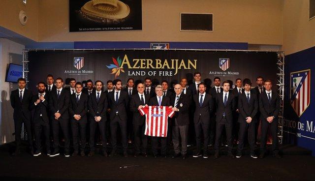 Acuerdo renovación Azerbaijan Azerbaiyán Atlético