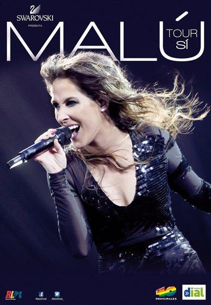 Malú actuará en el Palacio de los Deportes de Logroño el próximo 31 de mayo