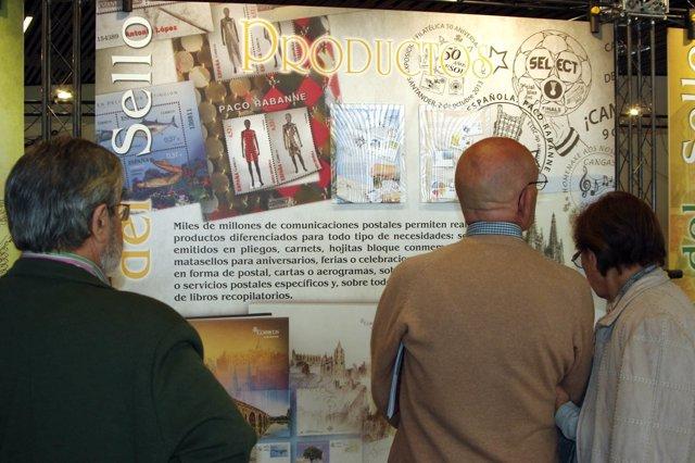 Exposición de Correos 'Otra mirada al sello', organizada por Anfil