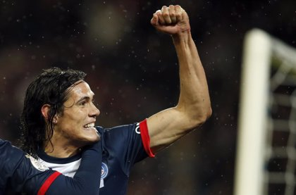 Cavani deja atrás su lesión y regresa este domingo ante el Olympique de Marsella