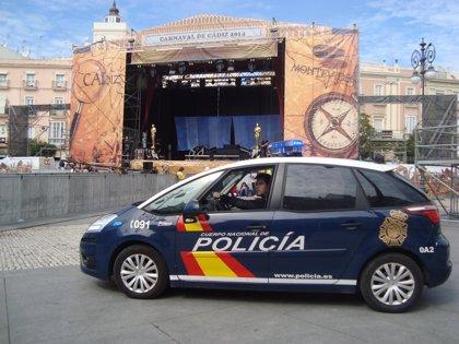 Más de mil agentes de la Policía Nacional participan en el dispositivo especial de seguridad durante el Carnaval