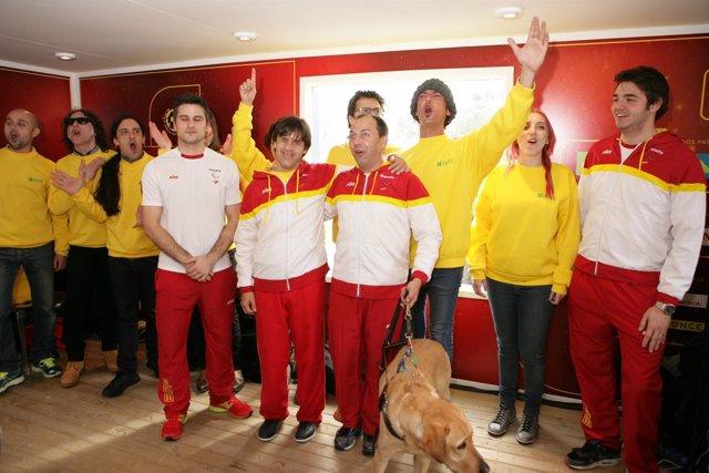 El Rasca de la Roja se presentó en Madrid