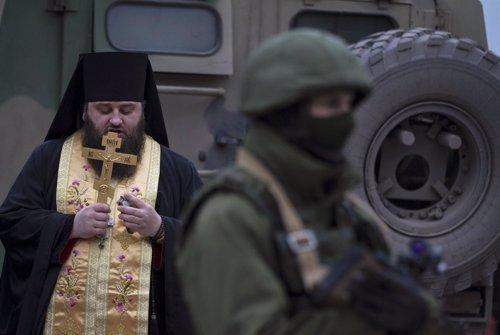Militares de Rusia en Crimea, Ucrania