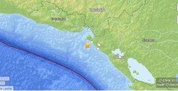Terremoto en el Pacífico de Nicaragua
