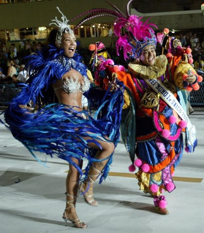 Brasil.- Atienden a 543 personas en los dos primeros días de Carnaval en el Sambódromo de Río de Janeiro