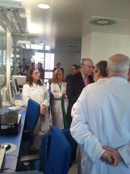 Visita del consejero de Sanidad al Hospital de La Princesa