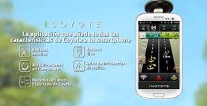 Coyote, nueva App de alerta de radares móviles