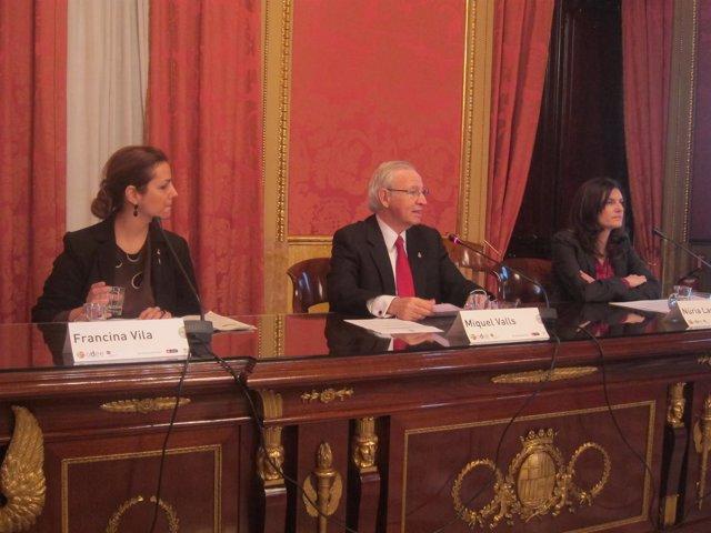 Francina Vila, Miquel Valls y Núria Lao