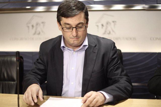 José Luis Centella, portavoz de Izquierda Plural