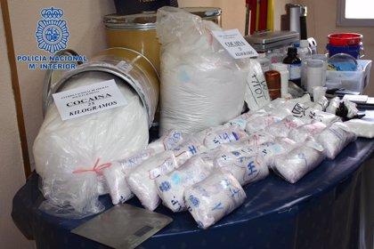 Desmantelado un laboratorio de cocaína en Carabanchel