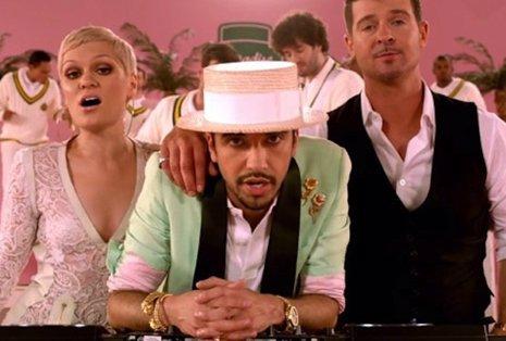 Robin Thicke y Jessie J se unen a Dj Cassidy en el videoclip de 'Calling All Hea