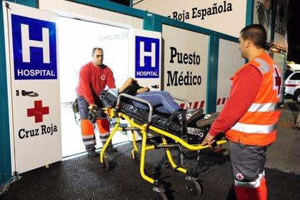 El exceso de alcohol acapara la mitad de las atenciones en el Hospital del Carnaval de Santa Cruz