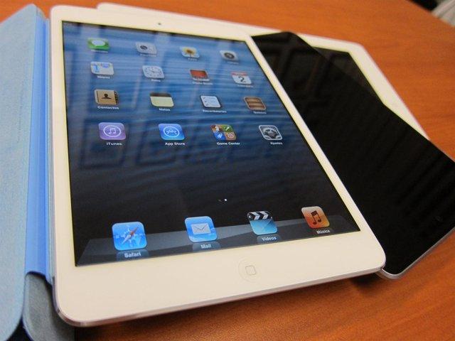 Tablet iPad mini frente al iPad de cuarta generación y el Nexus 7