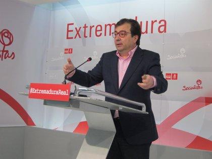 """Vara considera un """"error estratégico"""" de Monago publicar las balanzas"""