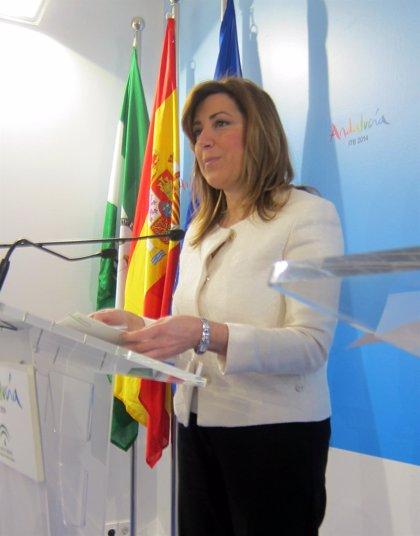 """Díaz critica la """"subasta"""" de las CCAA del PP por ofrecer balanzas fiscales"""
