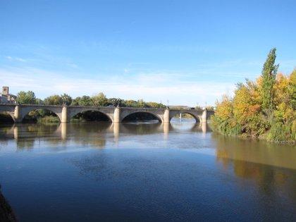 """El río Ebro a su paso por Logroño está en situación de """"total normalidad"""" y no se prevén problemas para el fin de semana"""