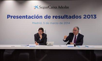 SegurCaixa Adeslas obtuvo un beneficio neto de 139 millones en 2013, un 28% más