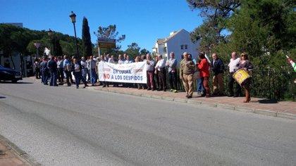 Trabajadores del hotel Don Carlos de Málaga se movilizan contra cinco despidos en el último mes