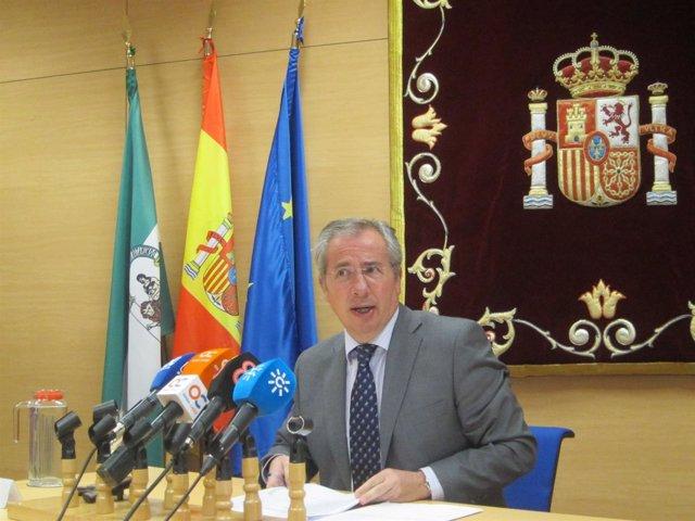 Javier De Torre, en rueda de prensa
