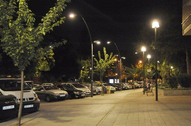 Iluminación LED en el alumbrado público en Móstoles