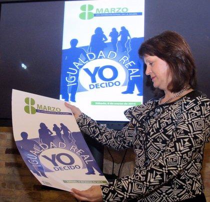 """La Diputación programa más de 70 actividades dirigidas a """"reivindicar la igualdad real"""" entre hombres y mujeres"""