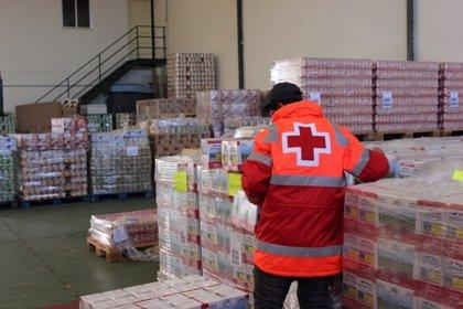 Cruz Roja repartirá alimentos a 12.000 personas de Valladolid en los próximos días